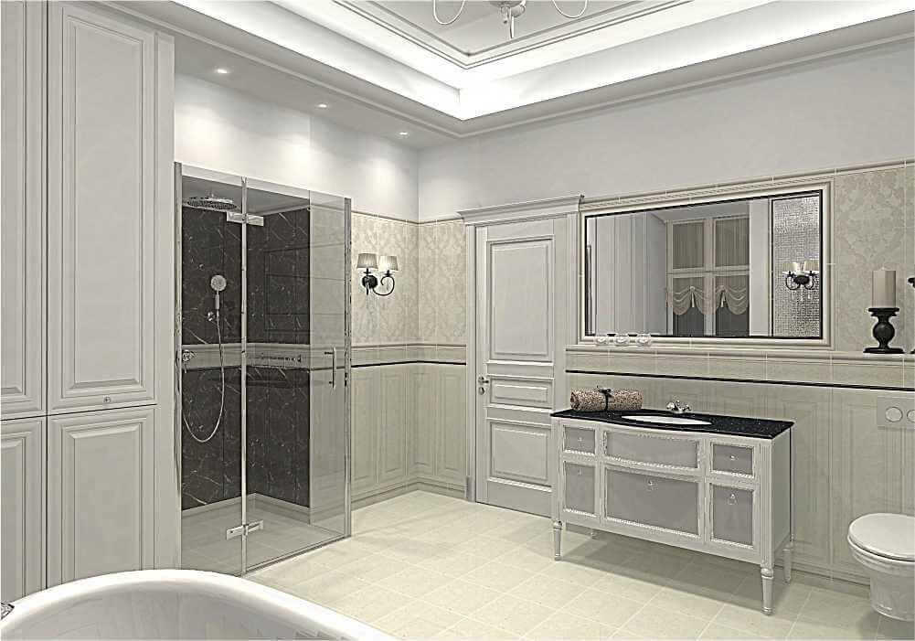 Salon kąpielowy – zabytkowy pałac