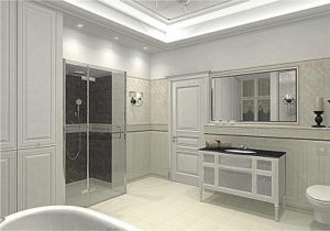 Projekt nowoczesnej łazienki CamiDecor
