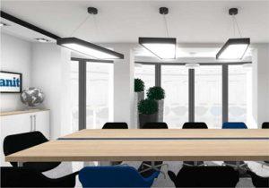 Projekt sali konferencyjnej - CamiDecor