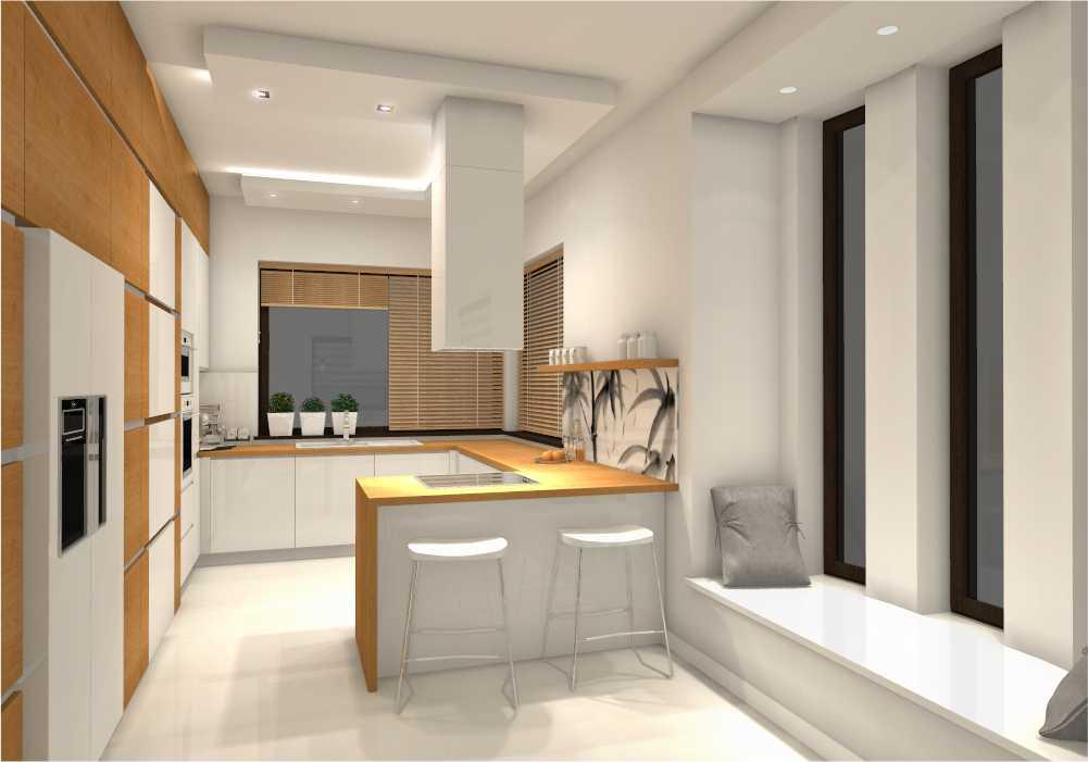 Kuchnia, salon, hol – prywatny dom jednorodzinny