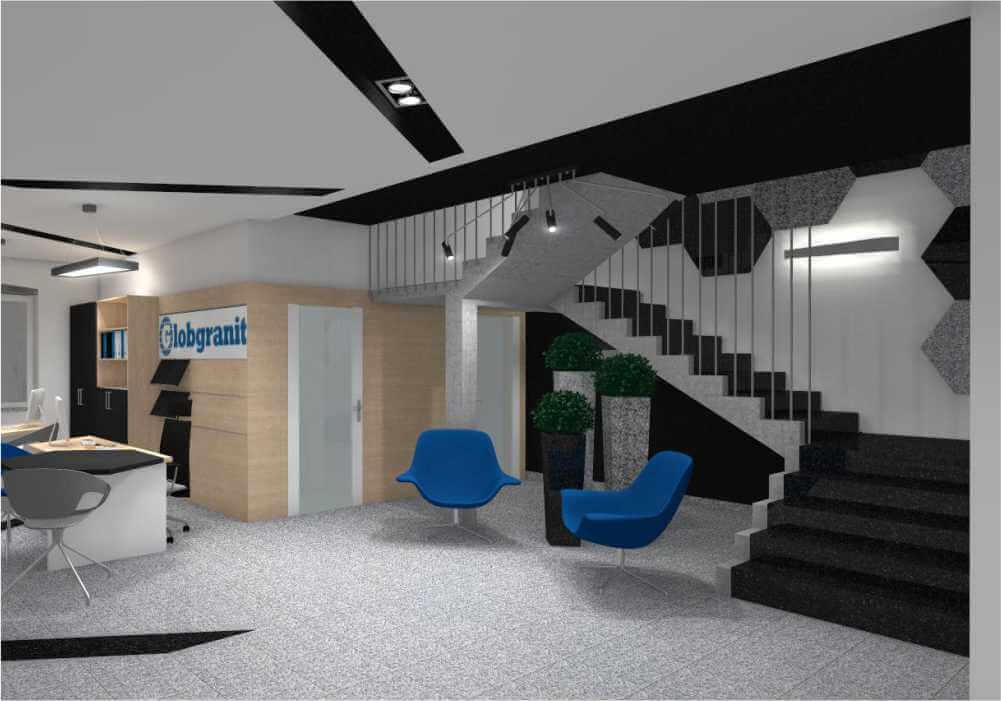 Sala obsługi klienta Globgranit